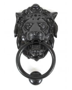 Black Lion Head Knocker
