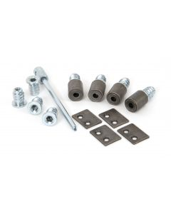 Antique Pewter Secure Stops (Pack of 4)