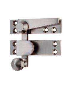 Architectural Quality Sash Fastener (Quadrant Arm) Satin Nickel