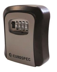 EUROSPEC COMBINATION KEY SAFE 114X94X40MM
