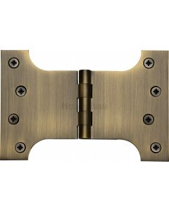 "Heritage Brass Parliament Hinge Brass 4"" x 4"" x 6"" Antique finish"