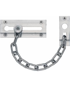 Heritage Brass Door Chain Satin Chrome finish