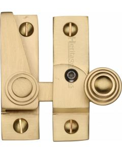 Heritage Brass Sash Fastener Lockable Satin Brass Finish