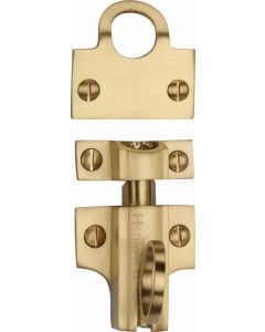 Heritage Brass Fanlight Catch Satin Brass Finish
