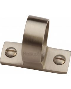 Heritage Brass Sash Ring Satin Nickel finish