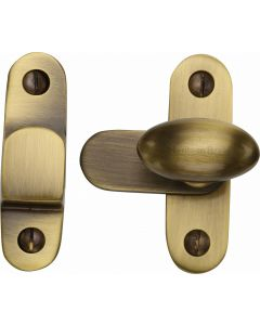 Heritage Brass Cabinet Hook & Plate Antique Finish