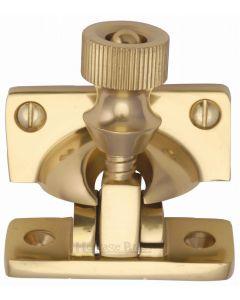 Heritage Brass Brighton Sash Fastener Polished Brass finish