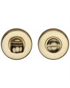 Heritage Brass Thumbturn & Emergency Release Polished Brass finish
