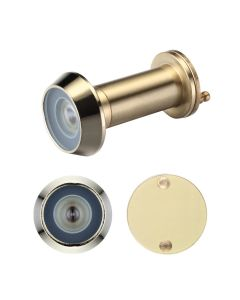 Door Viewer with Glass Lens - 14mm dia - 180 deg. Angle of Vision - Suitable for 35-55mm Doors