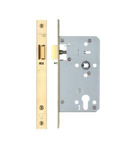 Din Night latch - 72mm c/c Backset 60mm - PVD