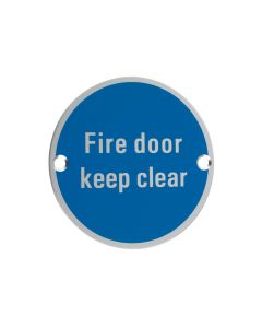 Signage - Fire Door Keep Clear
